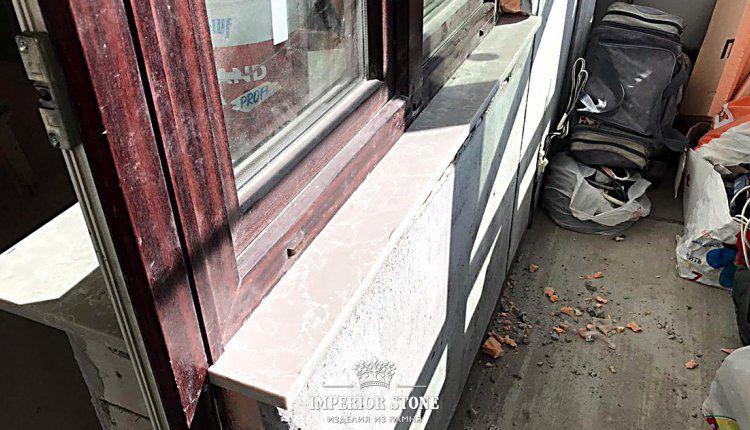 Мраморные подоконники Caesarstone 5110 Alpine Mist - фото