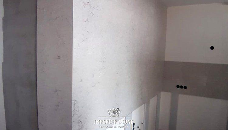 Caesarstone 6131 Bianco Drift стеновые панели - фото