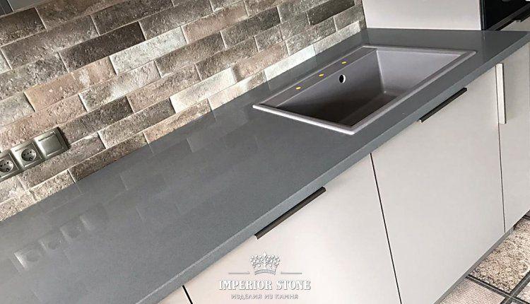 Кухонная столешница Samsung Radianz Columbia Gray CG910