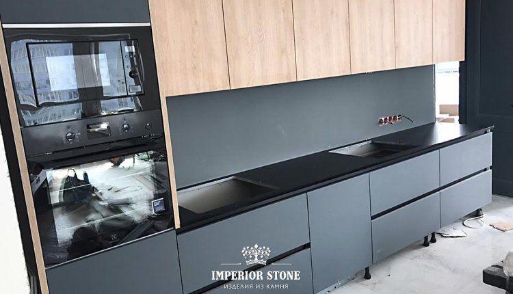 Прямая кварцевая столешница на кухню Avant Quartz 1240 Руан - фото