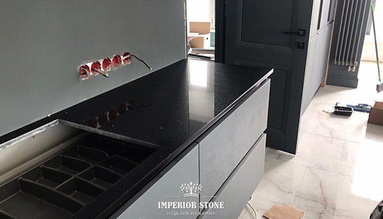 Кварцевая столешница на кухню Avant Quartz 1240 Руан - фото
