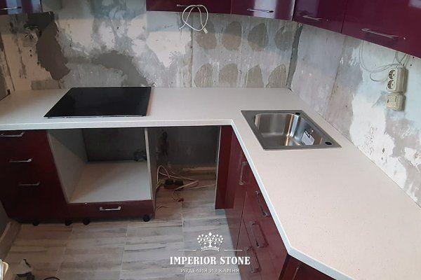 Столешница на кухню Avant Quartz 1220 Клермон - фото