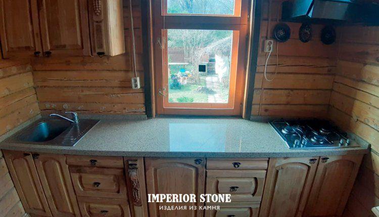 Искусственный камень столешница - фото