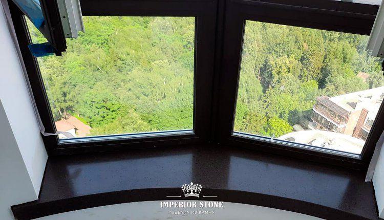 Акриловые подоконники LG Hi-Macs G114 Clay Granite - фото