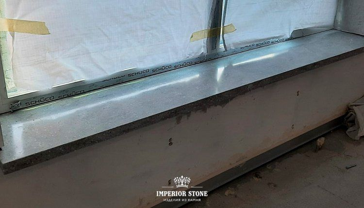 Акриловые подоконники LG Hi-Macs M301 Siena Marmo - фото