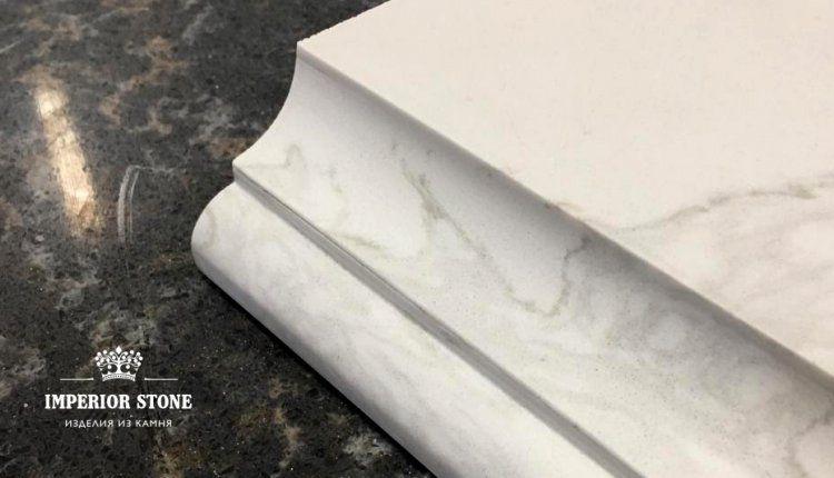 Вариант каменной кромки - фото