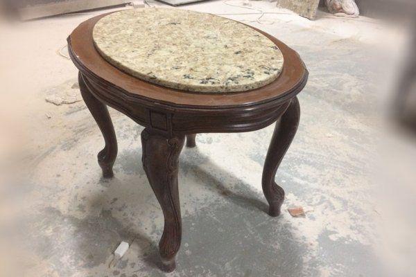 Журнальный столик из камня Avant Quartz - фото