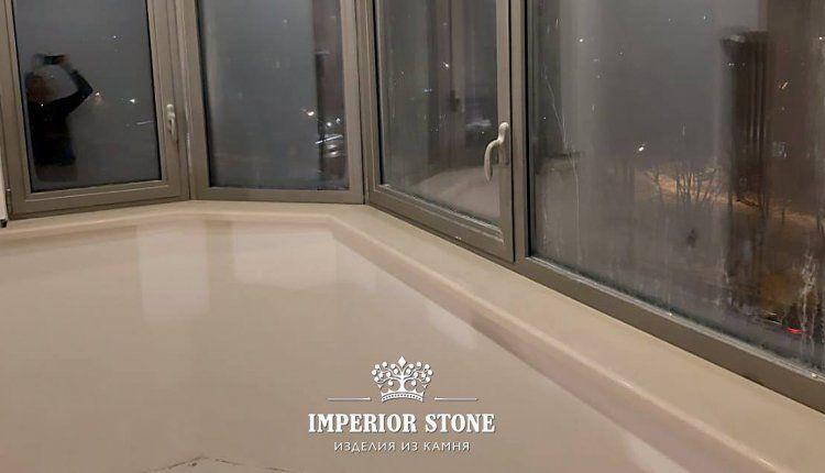 Подоконники из искусственного камня Avant Quartz 9200 Аквитания Бланка - фото