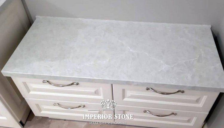 Столешница из искусственного камня - фото