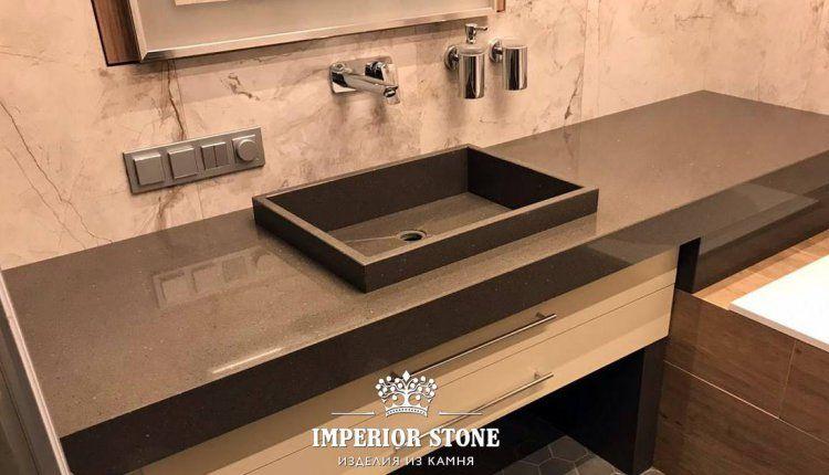 Столешница в ванную Samsung Radianz  - фото