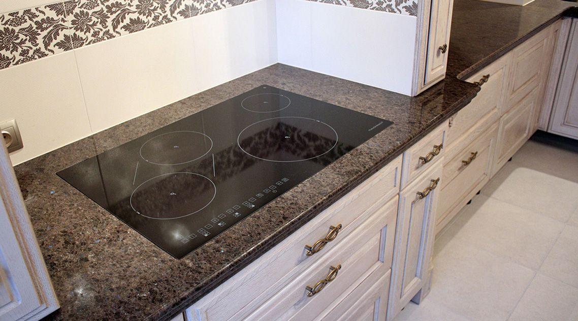 Столешница на кухню из искусственного камня