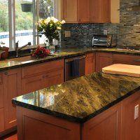 Столешницы для кухни из натурального камня - фото