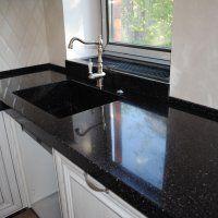 Столешницы для кухни из искусственного камня - фото