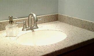 Хотим сказать спасибо компании Империор-Стоун за качественно выполненную работу по изготовлению столешницы с мойкой в ванную и подоконников во всех комнатах квартиры. Процветания и удачи вам! Будем рекомендовать друзьям! - фото