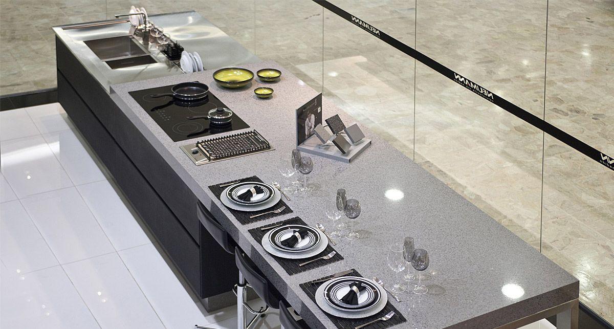 Silestone Chrome Platinum