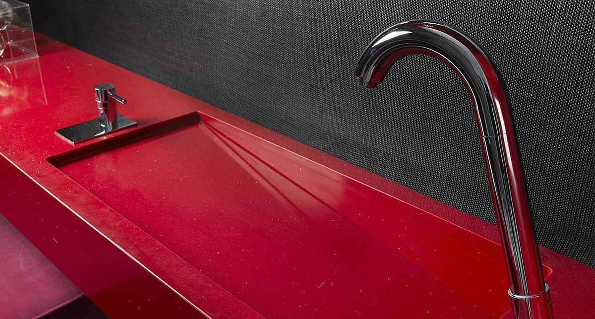 Silestone Red Eros Rojo