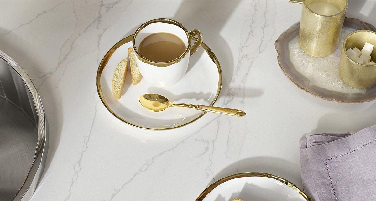 Silestlone Calacatta Gold Eternal