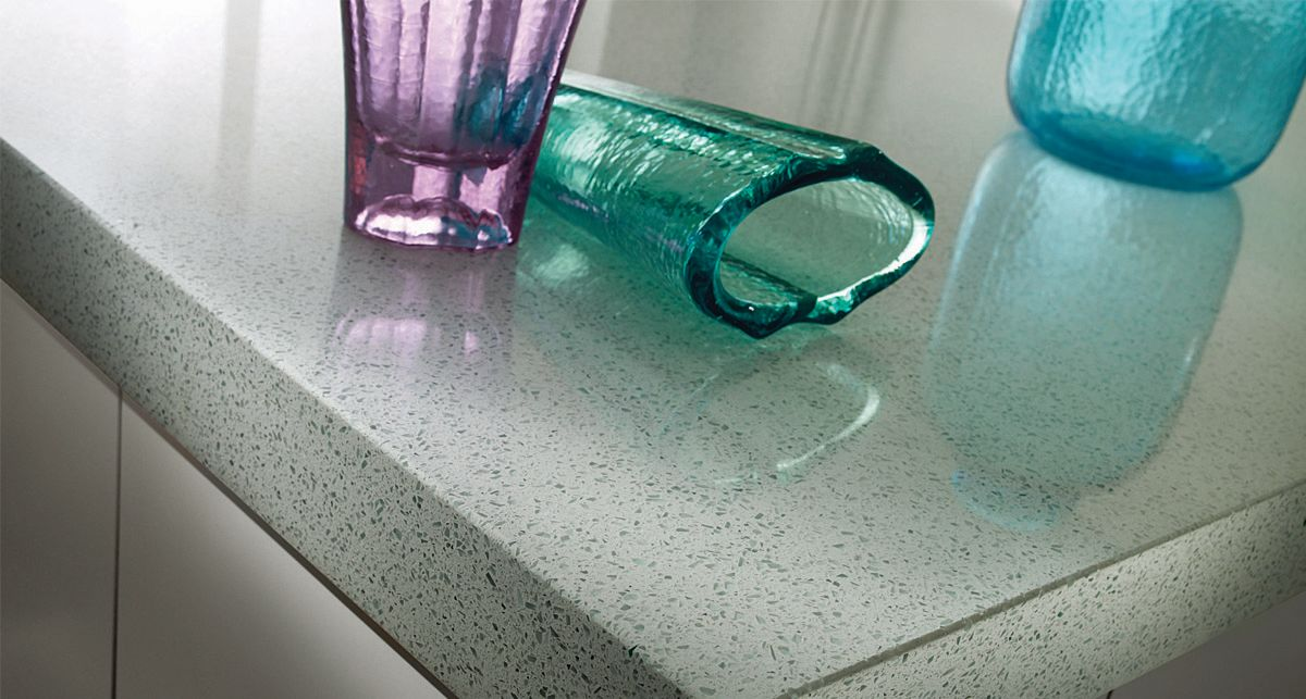 Silestone White Diamond Eco Line