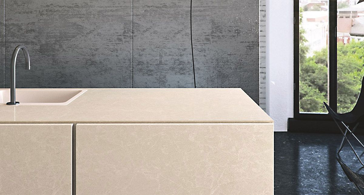 Caesarstone 5130 Cosmopolitan White