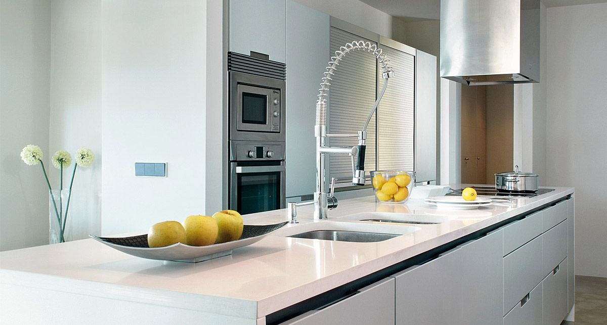 Silestone Classic White Mythology