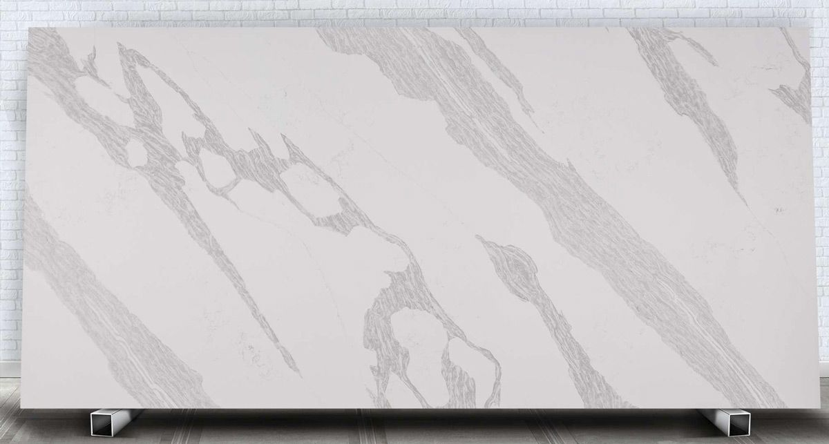 Слэб кварцевого агломерата Avant Quartz 7900 Калакатта Ла-Рошель