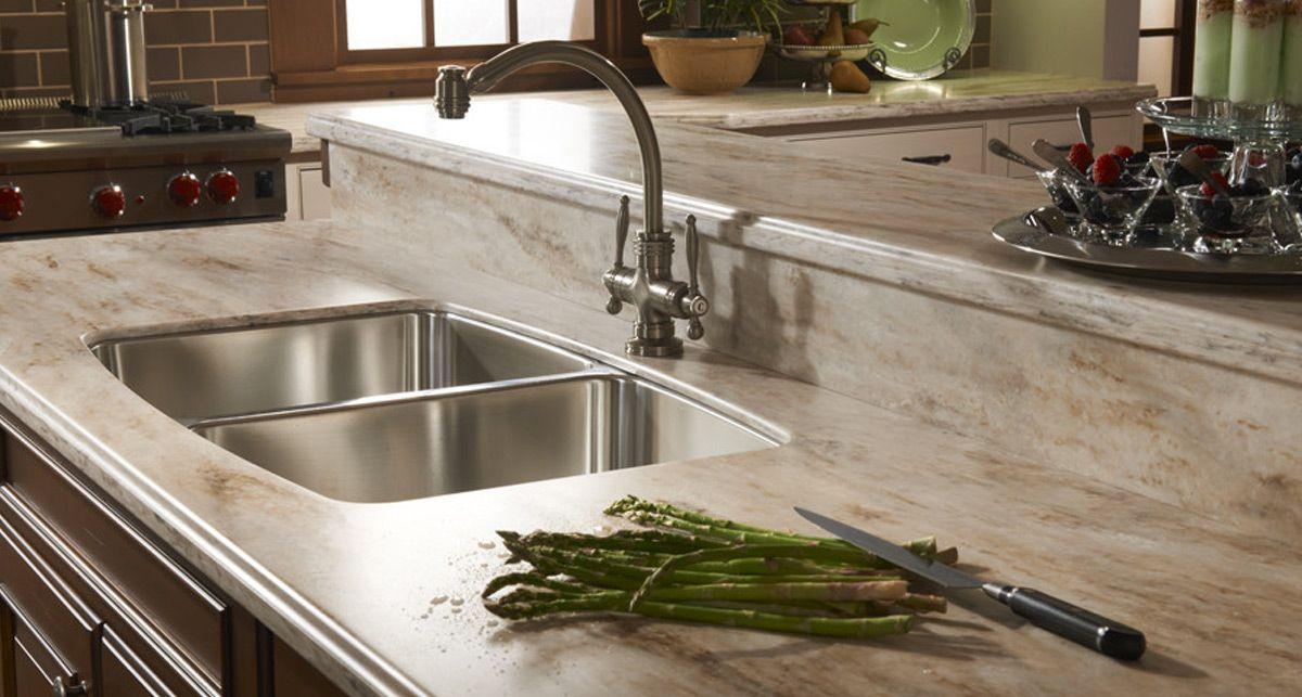 Кухонная акриловая столешница DuPont Corian Hazelnut