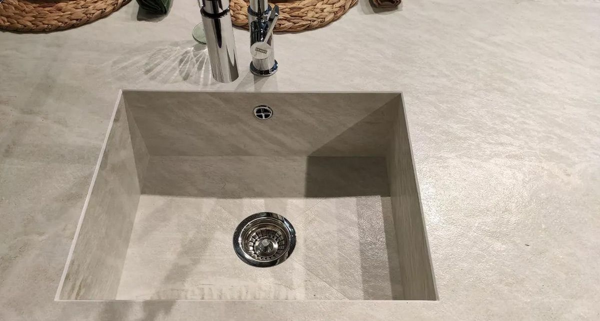 Кухонная столешница Dekton Liquid Shell