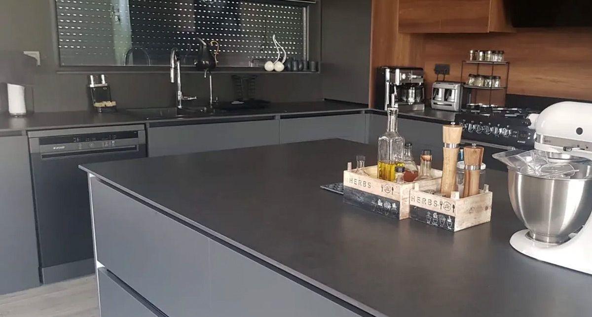 Кухонная столешница Dekton Eter collection Natural