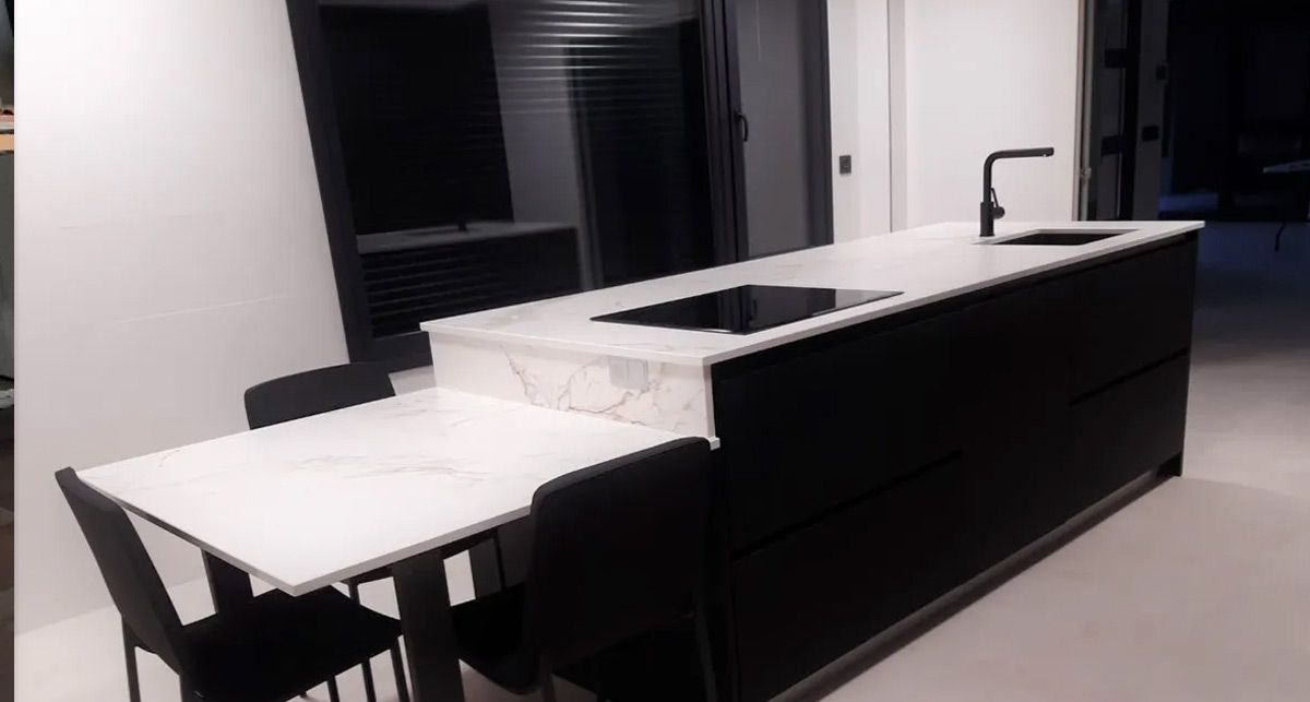 Стол Dekton Entzo collection Natural