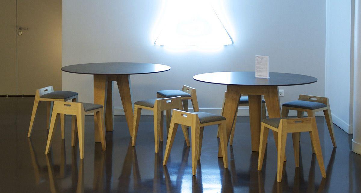 Столы из керамики Dekton Milar collection Industrial