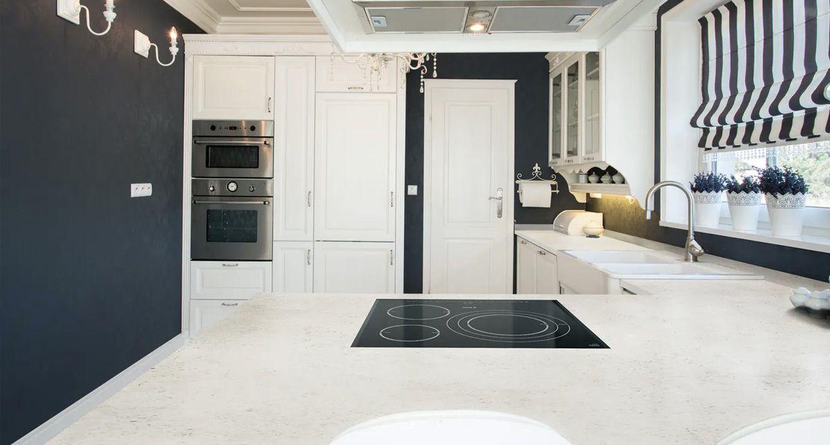 Столешница на кухню Dekton Blanc Concrete collection Tech