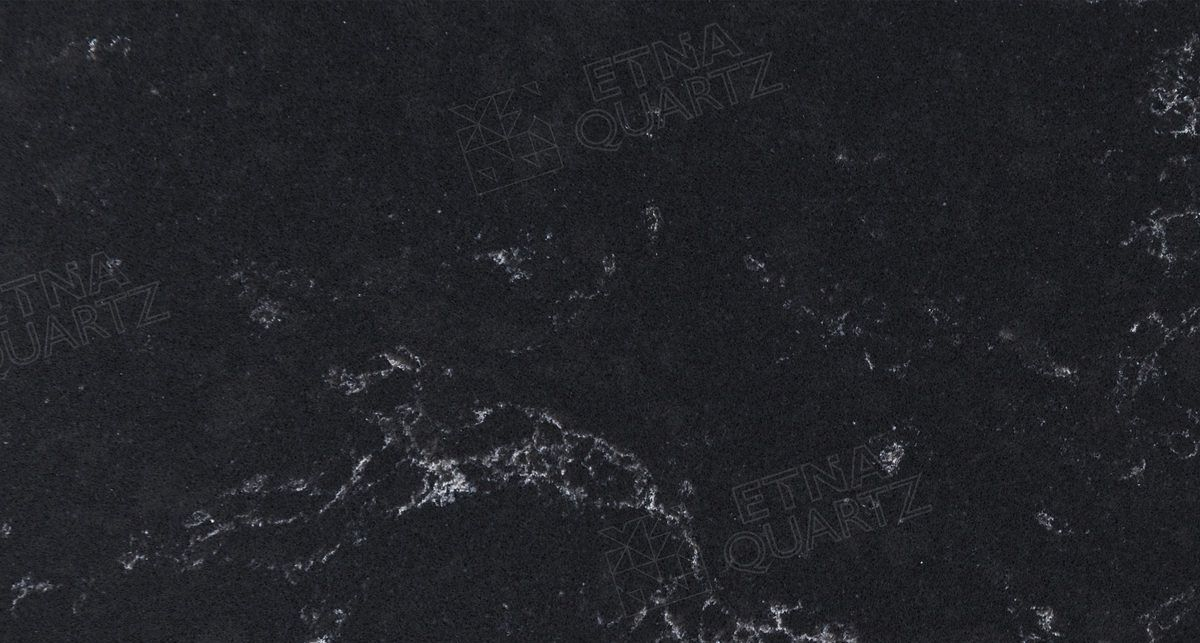 Искусственный камень Etna Quartz Black Perlino EQPM 028