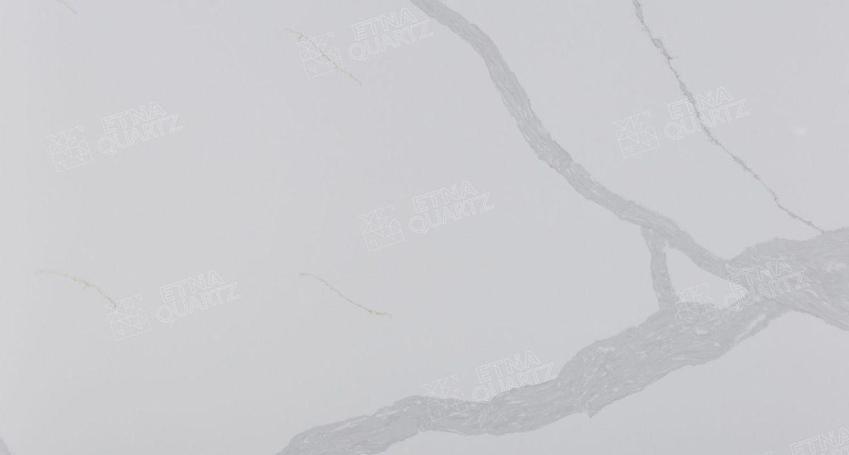 Искусственный камень Etna Quartz Calacatta Santorini EQHM 008