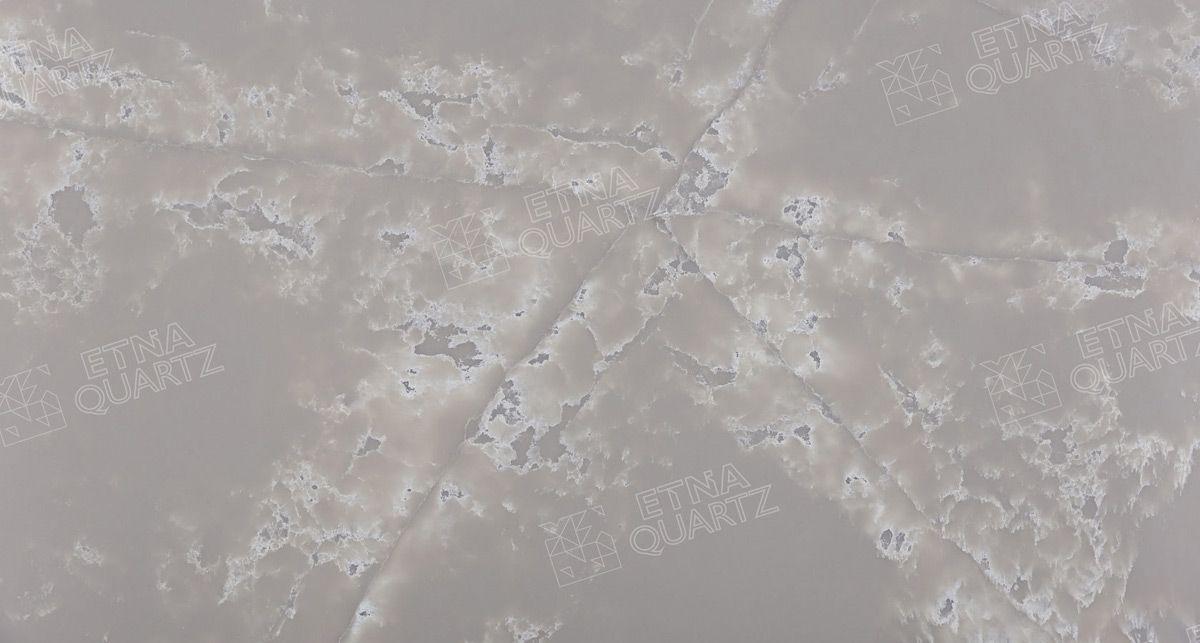 Искусственный камень Etna Quartz White Ice EQPM 023