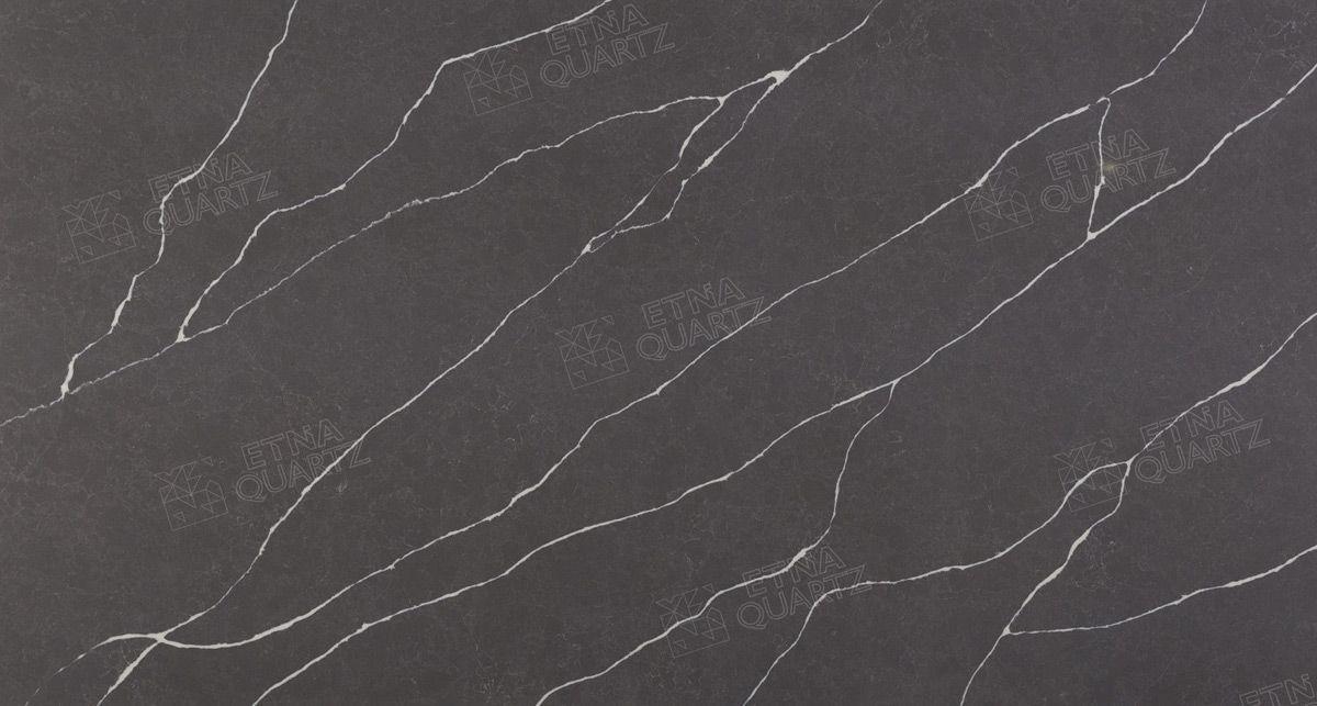 Темный кварц Etna Quartz Grey Marquina EQHM 007