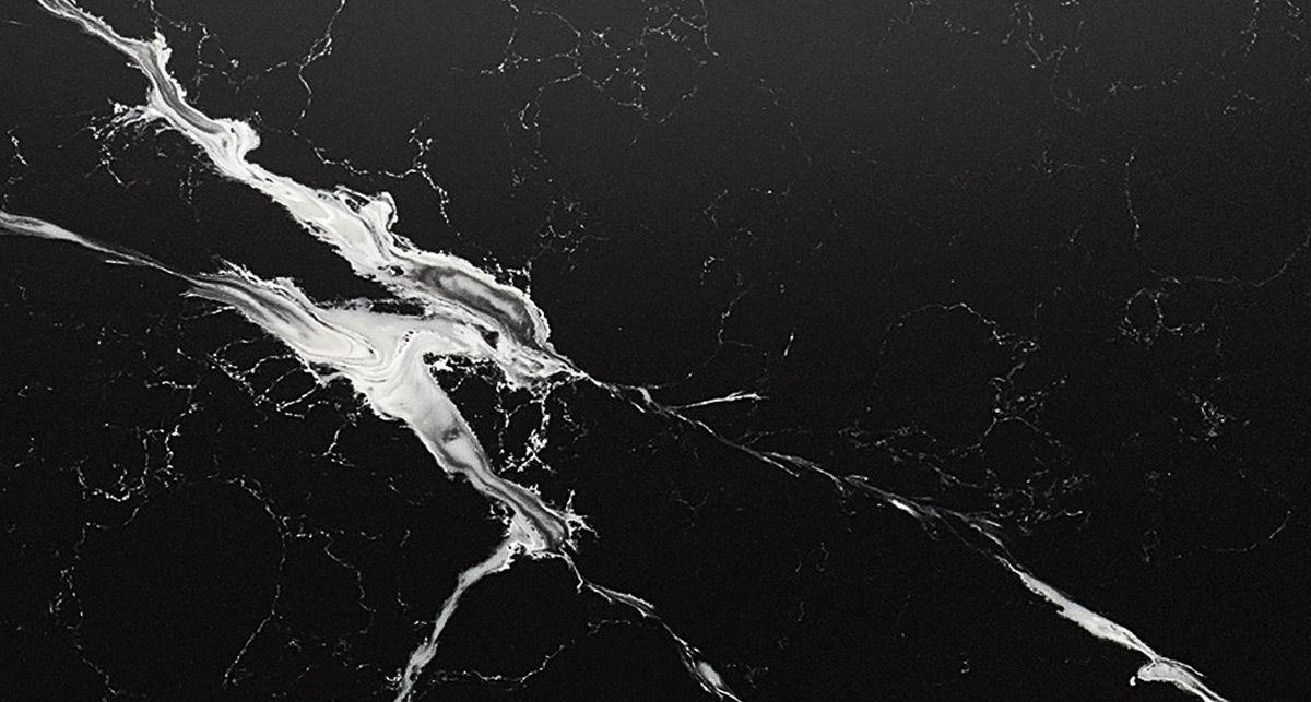 Искусственный камень Etna Quartz Pearl Negro EQHM 006