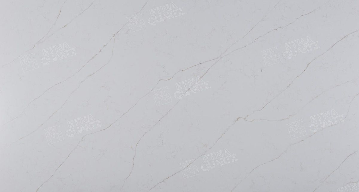 Кварц под мрамор Etna Quartz Calacatta Venato EQHM 002