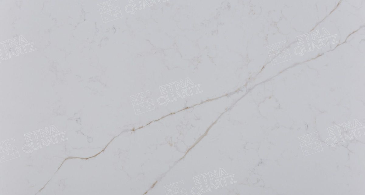 Искусственный мрамор Etna Quartz Calacatta Venato EQHM 002