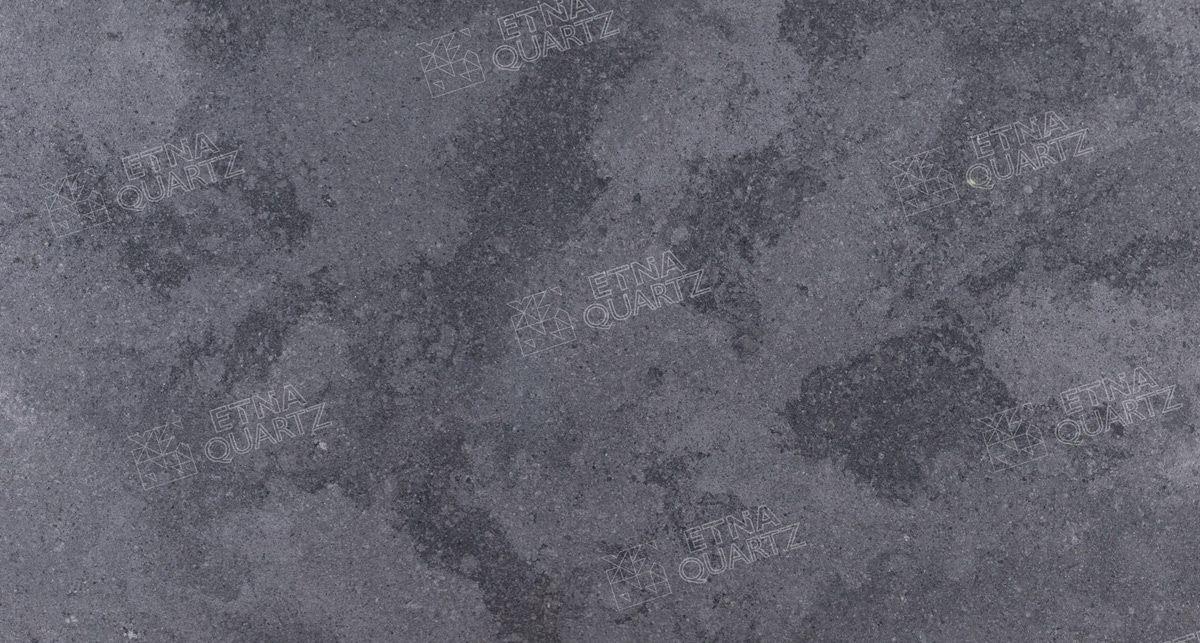 Фактура кварцевого агломерата Etna Quartz Sesame Grey EQHG 004