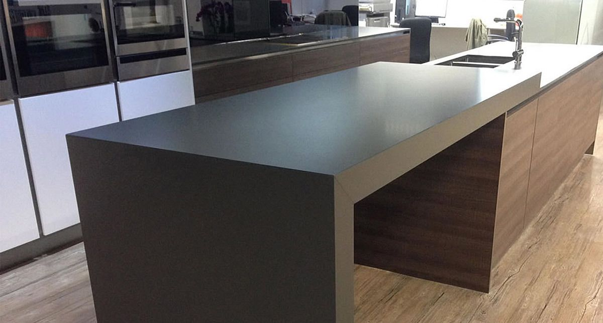 TechniStone Crystal Anthracite Pure