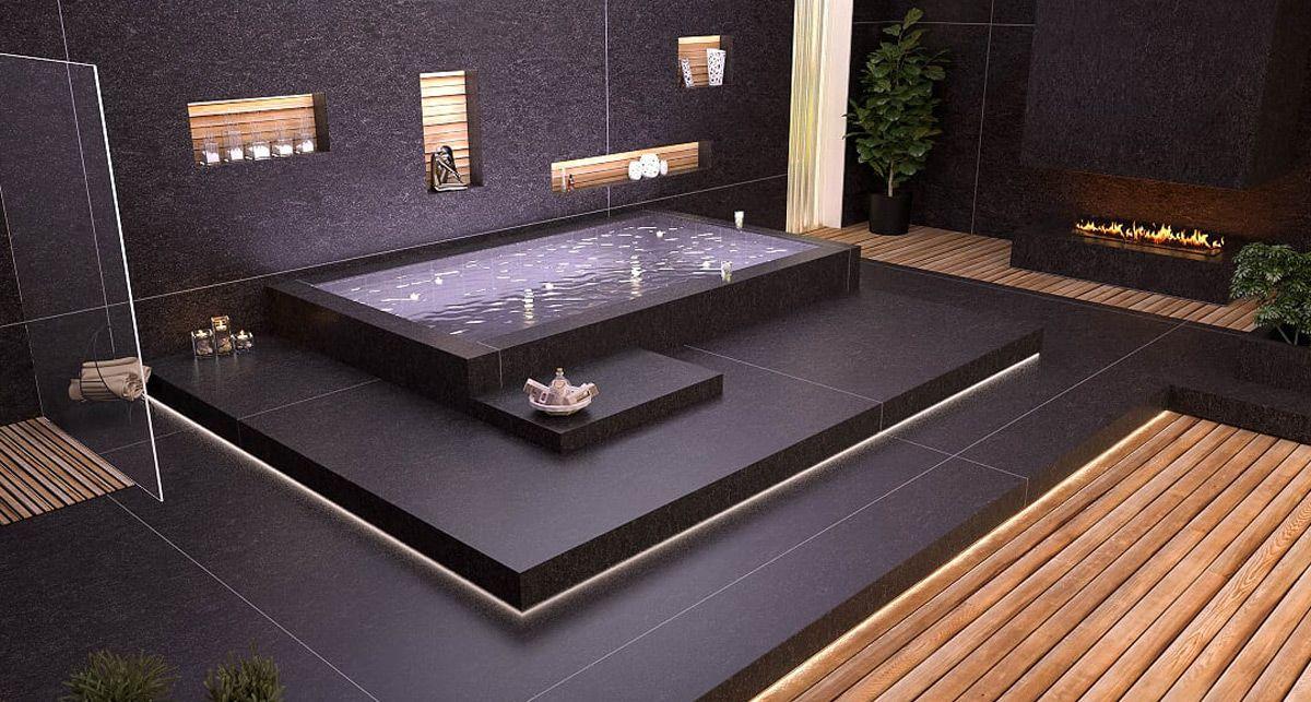 Отделка ванной TechniStone Crystal Belgium