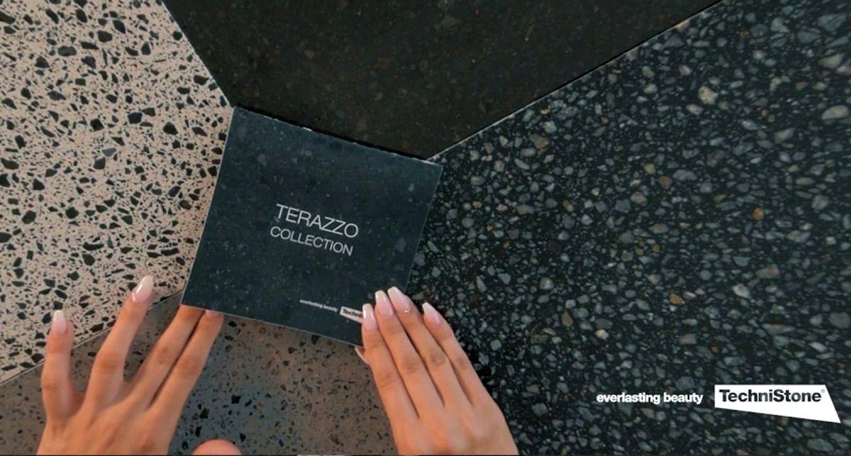 TechniStone Taurus Terazzo Dark кварц