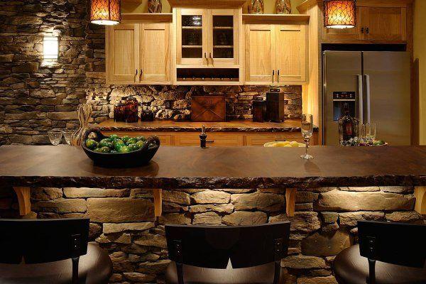 Кухонная мебель из камня