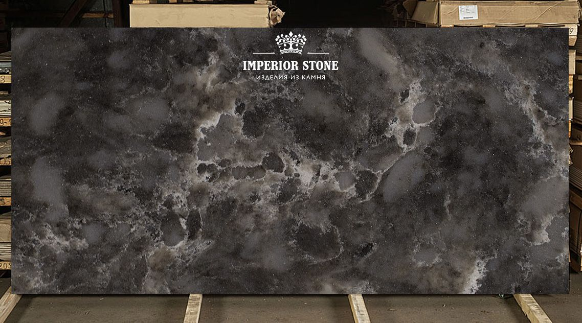 TechniStone Imperial Grey Noble Collection кварцевый агломерат